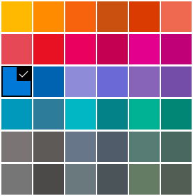 Using a custom accent color in UWP and Windows Phone